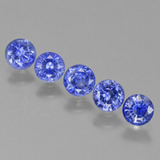 thumb image of 1.9ct Round Facet Blue Sapphire (ID: 424495)