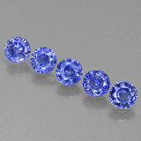 thumb image of 1.7ct Round Facet Blue Sapphire (ID: 424497)