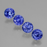 thumb image of 2ct Round Facet Blue Sapphire (ID: 424785)