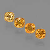 thumb image of 2.1ct Cushion-Cut Yellow Golden Sapphire (ID: 427192)
