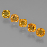 thumb image of 2.5ct Cushion-Cut Yellow Golden Sapphire (ID: 427199)
