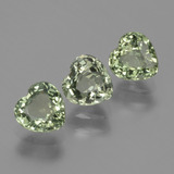 thumb image of 1.5ct Heart Facet Green Sapphire (ID: 428710)