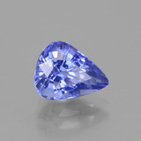 2.35 ct Pear Facet Cornflower Blue Sapphire Gem 8.76 mm x 7 mm (Photo B)