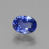 thumb image of 2.8ct Oval Facet Blue Sapphire (ID: 429671)