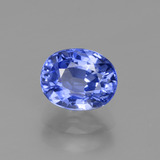 thumb image of 2.8ct Oval Facet Blue Sapphire (ID: 429678)