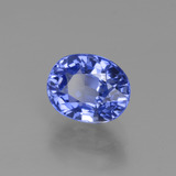 2.80 ct Oval Facet Blue Sapphire Gem 8.57 mm x 6.9 mm (Photo B)
