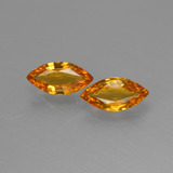 thumb image of 0.8ct Marquise Facet Yellow Golden Sapphire (ID: 429707)