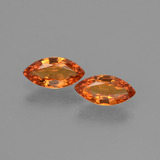 thumb image of 0.8ct Marquise Facet Yellow Orange Sapphire (ID: 429779)