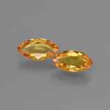 thumb image of 0.8ct Marquise Facet Yellow Golden Sapphire (ID: 429783)