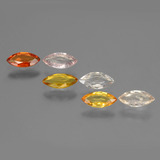 thumb image of 2.1ct Marquise Facet Multicolor Sapphire (ID: 429892)
