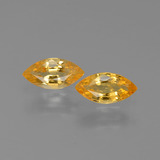 thumb image of 1ct Marquise Facet Yellow Golden Sapphire (ID: 429956)