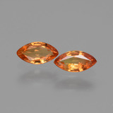 thumb image of 1ct Marquise Facet Yellow Orange Sapphire (ID: 429959)