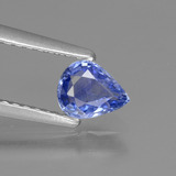 thumb image of 0.5ct Pear Facet Blue Sapphire (ID: 430146)