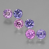 thumb image of 2.2ct Round Facet Purple Pink Sapphire (ID: 430907)