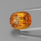 3.57 ct Oval Facet Yellow Golden Sapphire Gem 9.50 mm x 7.8 mm (Photo B)
