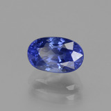 1.83 ct Oval Facet Blue Sapphire Gem 8.12 mm x 5.1 mm (Photo B)