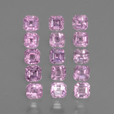 thumb image of 0.1ct Octagon Facet Pink Sapphire (ID: 434930)