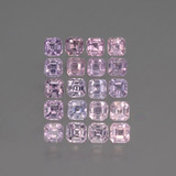 thumb image of 0.1ct Octagon Facet Pink Sapphire (ID: 435100)
