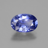 2.40 ct Oval Facet Blue Sapphire Gem 9.81 mm x 6.8 mm (Photo B)