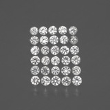 thumb image of 1ct Diamond-Cut White Sapphire (ID: 435977)