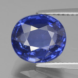 thumb image of 4.8ct Oval Facet Blue Sapphire (ID: 439672)