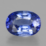 thumb image of 5.5ct Oval Facet Blue Sapphire (ID: 439686)