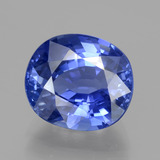 thumb image of 5.7ct Oval Facet Blue Sapphire (ID: 439688)