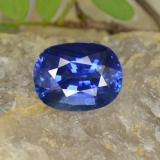 thumb image of 5ct Oval Facet Blue Sapphire (ID: 439689)