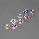 thumb image of 1.8ct Oval Facet Multicolor Sapphire (ID: 441092)