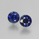 thumb image of 1.1ct Diamond-Cut Blue Sapphire (ID: 441513)