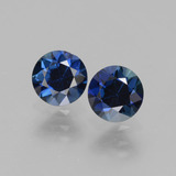 thumb image of 1.2ct Diamond-Cut Blue Sapphire (ID: 441514)