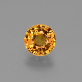 thumb image of 1.1ct Round Facet Golden Yellow Sapphire (ID: 443364)