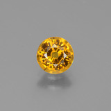thumb image of 1.1ct Round Facet Golden Yellow Sapphire (ID: 443420)