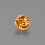 thumb image of 1.1ct Round Facet Golden Yellow Sapphire (ID: 443421)