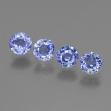 thumb image of 2.9ct Round Facet Blue Sapphire (ID: 443513)