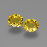 thumb image of 0.6ct Oval Facet Yellowish Gold Sapphire (ID: 443542)