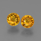 thumb image of 1.4ct Round Facet Yellow Golden Sapphire (ID: 443564)