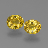 thumb image of 1.4ct Oval Facet Yellow Golden Sapphire (ID: 443617)