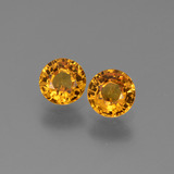 thumb image of 1.2ct Round Facet Yellow Golden Sapphire (ID: 443656)