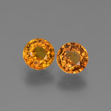 thumb image of 1.4ct Round Facet Yellow Golden Sapphire (ID: 443657)