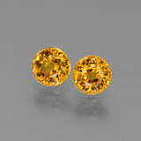 thumb image of 1.4ct Round Facet Yellow Golden Sapphire (ID: 443659)