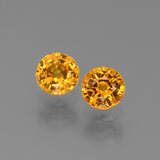 thumb image of 1.4ct Round Facet Yellow Golden Sapphire (ID: 443661)