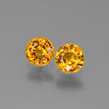 thumb image of 1.1ct Round Facet Yellow Golden Sapphire (ID: 443664)