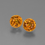 thumb image of 1.4ct Round Facet Yellow Golden Sapphire (ID: 443666)