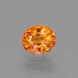thumb image of 0.9ct Oval Facet Yellow Golden Sapphire (ID: 443727)