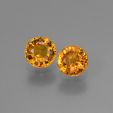thumb image of 1.3ct Round Facet Yellow Golden Sapphire (ID: 443777)