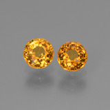 thumb image of 1.4ct Round Facet Yellow Golden Sapphire (ID: 443778)