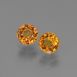thumb image of 1.4ct Round Facet Yellow Golden Sapphire (ID: 443781)