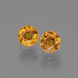 thumb image of 1.4ct Round Facet Yellow Golden Sapphire (ID: 443784)