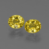 thumb image of 1.9ct Oval Facet Yellow Golden Sapphire (ID: 443804)